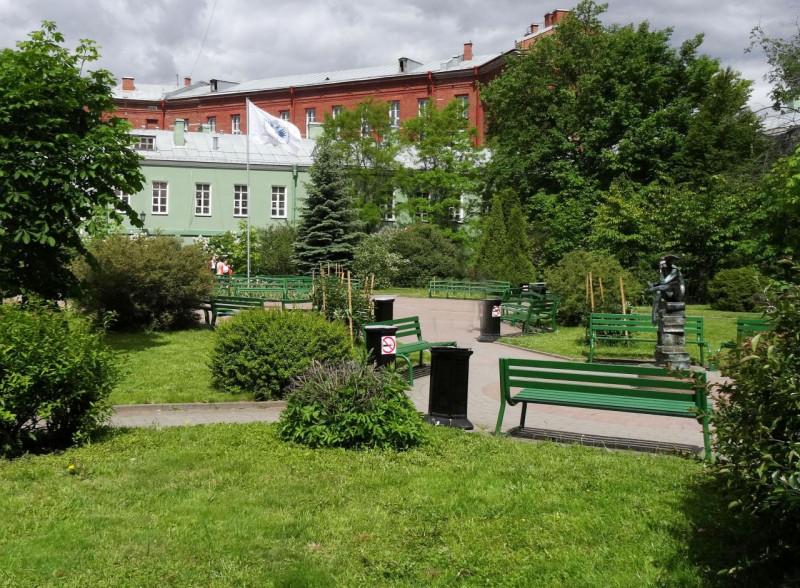 Парк современной скульптуры, 1-й двор. Фото: citywalls.ru