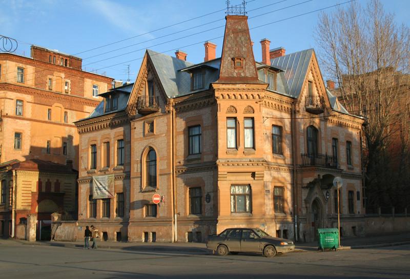 Особняк В. А. Шретера. Фото: Наталия, 04.2007 (citywalls.ru)
