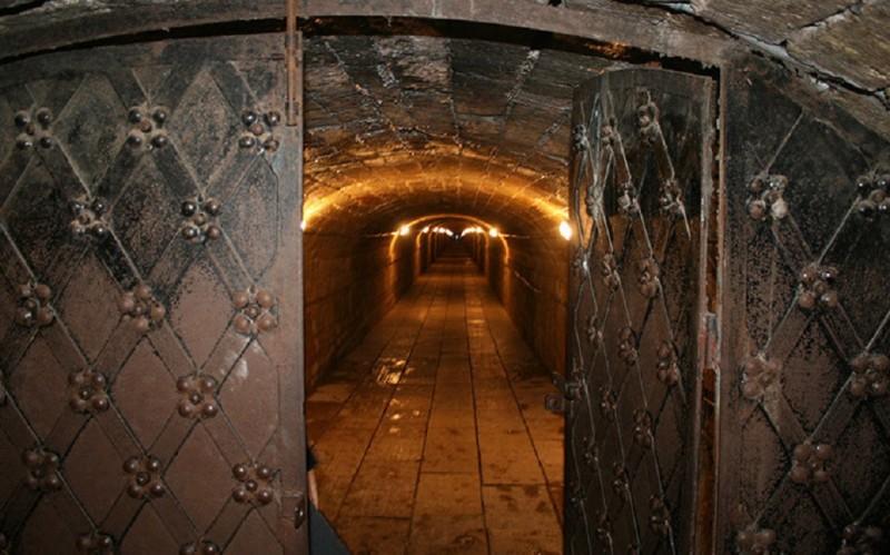 Подземелья Гатчинского дворца