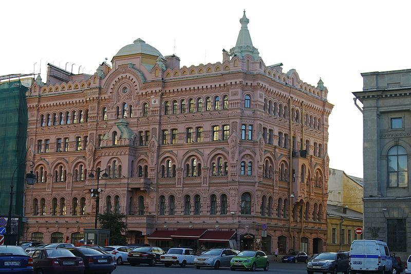 Собственный дом архитектора Н. П. Басина. Фото: Xverbina (Wikimedia Commons)