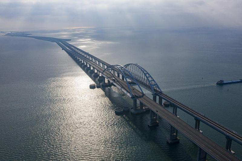 Крымский мост. Фото: Росавтодор