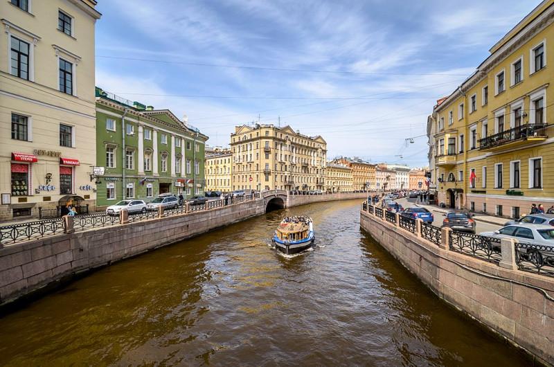 Река Мойка. Фото: Florstein (WikiPhotoSpace)