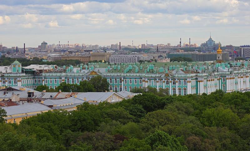 Зимний дворец. Фото: A.Savin (Wikimedia Commons · WikiPhotoSpace)