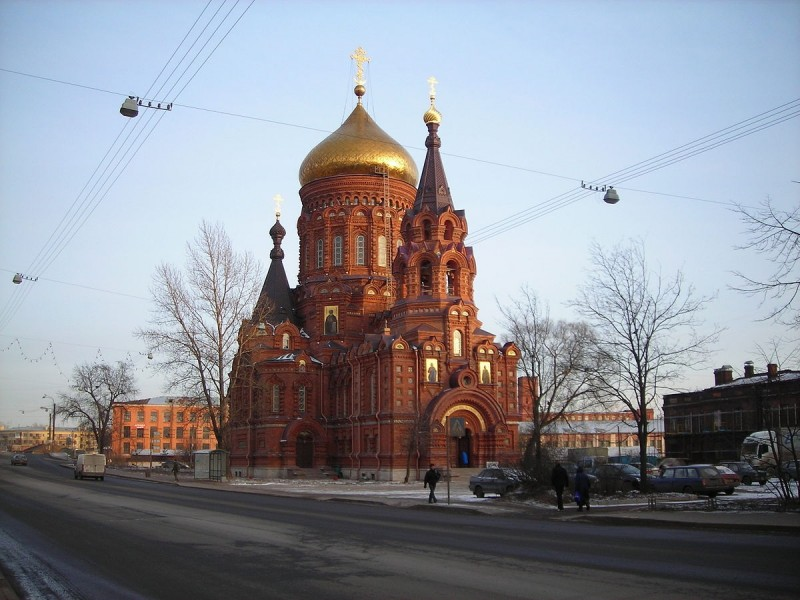 Богоявленская церковь. Автор: user:Medved', Wikimedia Commons