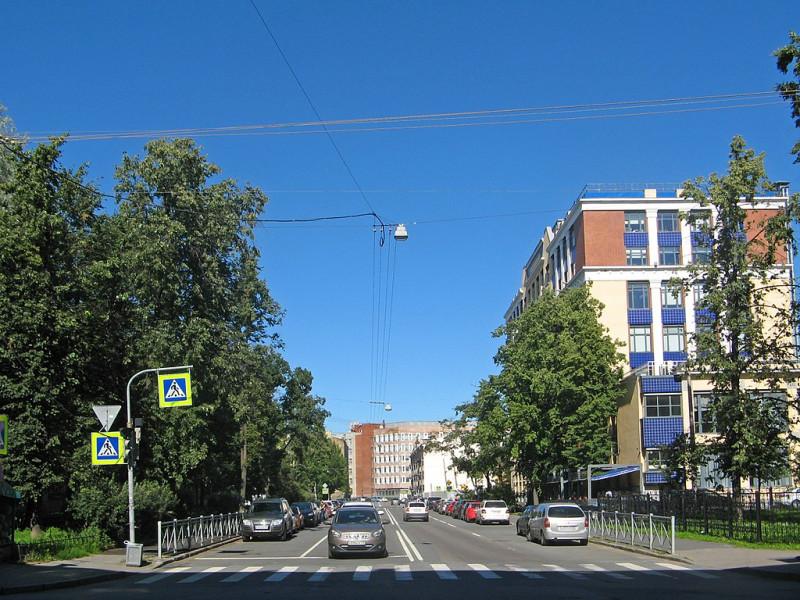 Лодейнопольская улица. Фото: Екатерина Борисова (Wikimedia Commons)