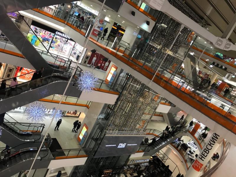 "ТК ""Невский Центр"". Фото: Мария М. ru.foursquare.com"