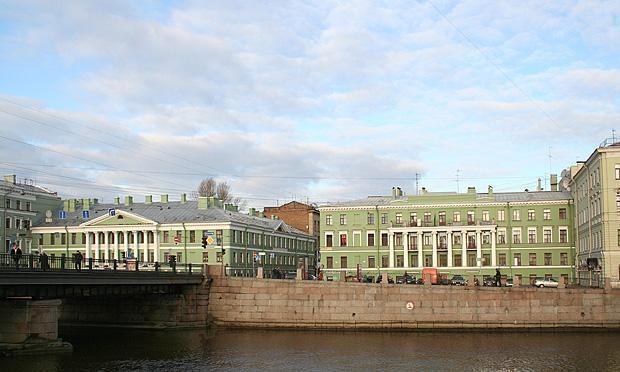Набережная Фонтанки. Дом Яковлева-Евментьева. http://wikimapia.org