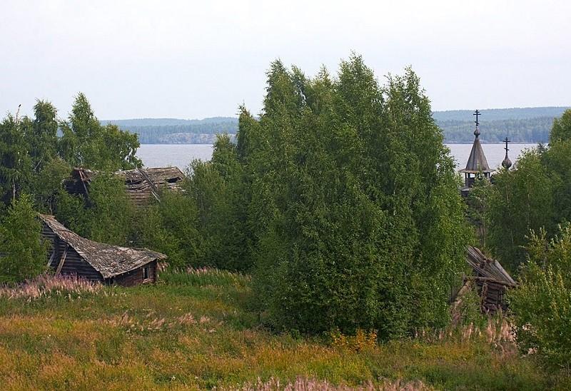 Фото деревни Пегрема. Автор: Дмитрий Арбузов. Взято с его блога: ardm.livejournal.com/57322.html
