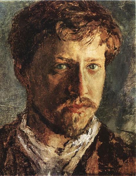 "В. А. Серов ""Автопортрет"". Источник: Wikimedia Commons"
