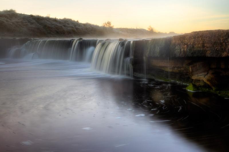 Тосненский водопад - фотограф Алексей Марголин - пейзаж Фото: photoforum.ru