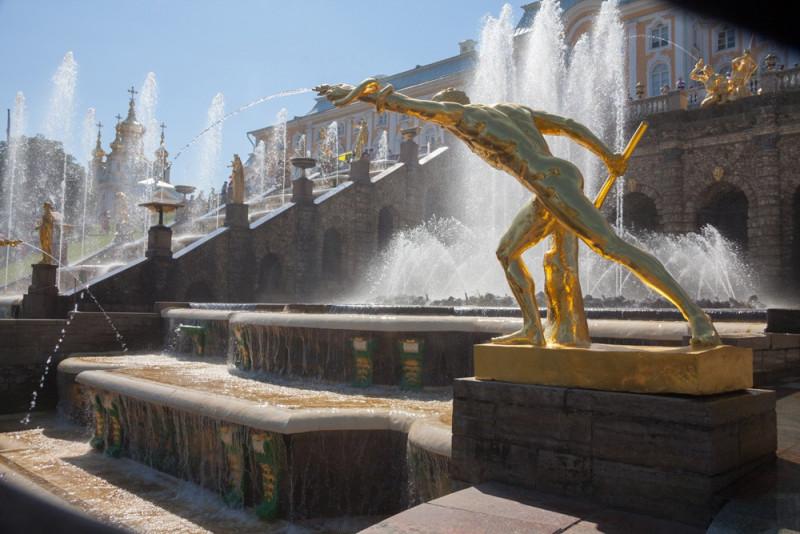 Большой Каскад в Петергофе. Фото: vk.com/peterhof_museum