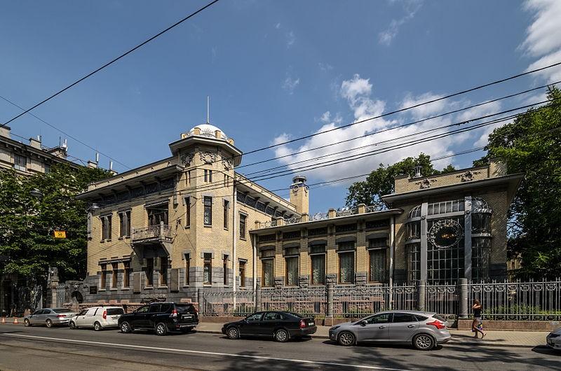 Музей политической истории России. Особняк Кшесинской. Автор: Florstein,  Wikimedia Commons