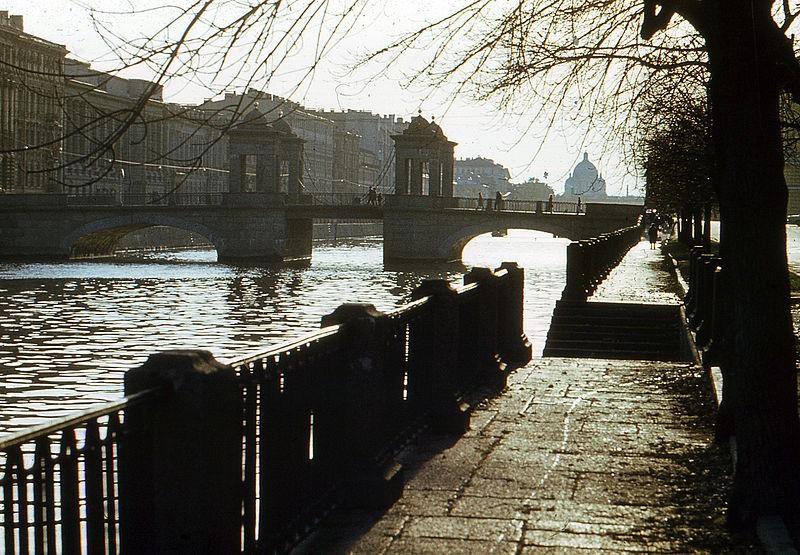 Река Фонтанка. Author: Витольд Муратов. Creative Commons