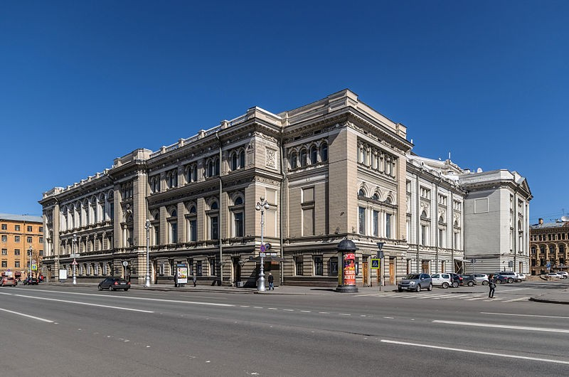 Петербургская государственная консерватория имени Н. А. Римского-Корсакова. Автор: Florstein (WikiPhotoSpace), Wikimedia Commons