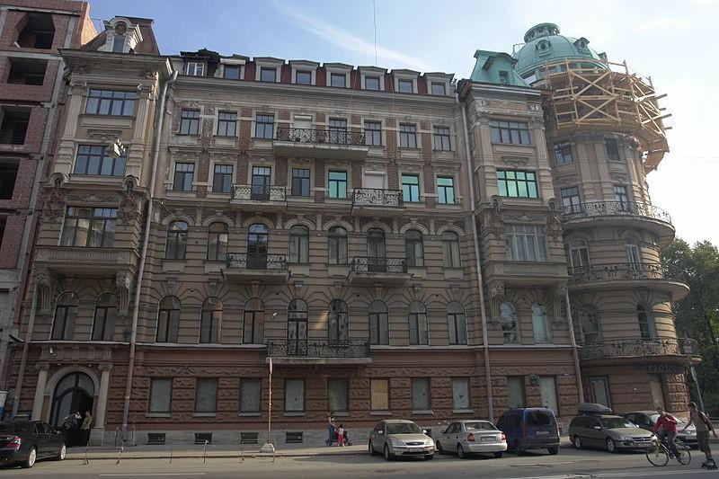 Дом Дернова. Автор: George Shuklin, Wikimedia Commons