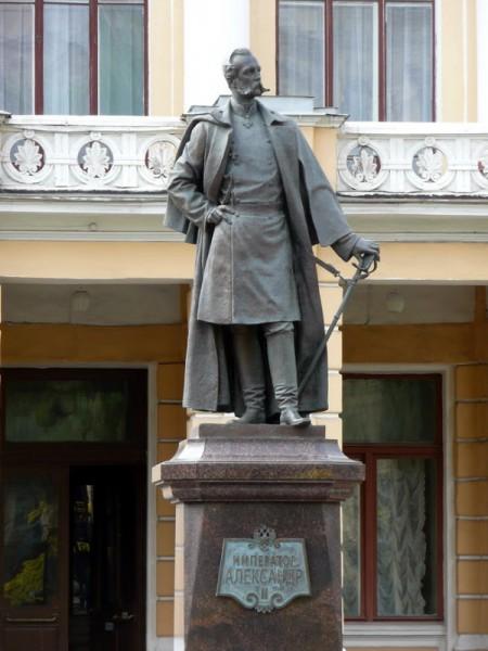 Памятник Александру II в Санкт-Петербурге, источник фото: http://v-murza.livejournal.com/93152.html