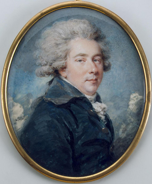 Александр Львович Нарышкин Ритт, Августин Христиан (Картина Эрмитажа)