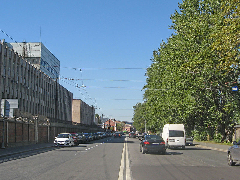 Арсенальная улица, фото с сайта https://commons.wikimedia.org/