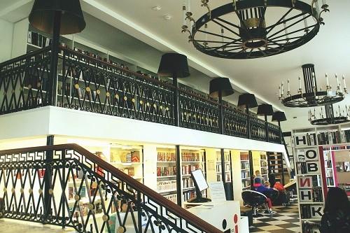 Библиотека Гоголя. Автор фото: Марина Чиркова