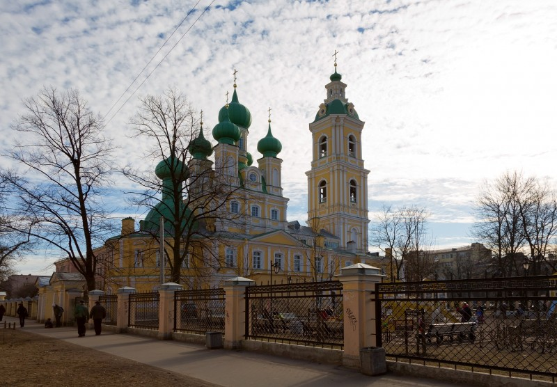 Благовещенская церковь на 7-й линии Васильевского острова. Автор: Pavlikhin, Wikimedia Commons