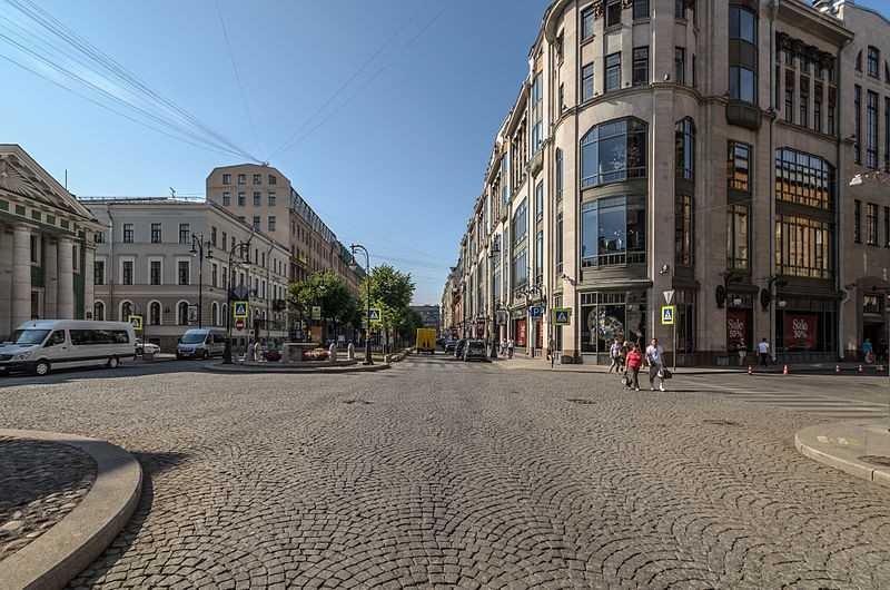 Большая Конюшенная улица.  Author Florstein (WikiPhotoSpace)