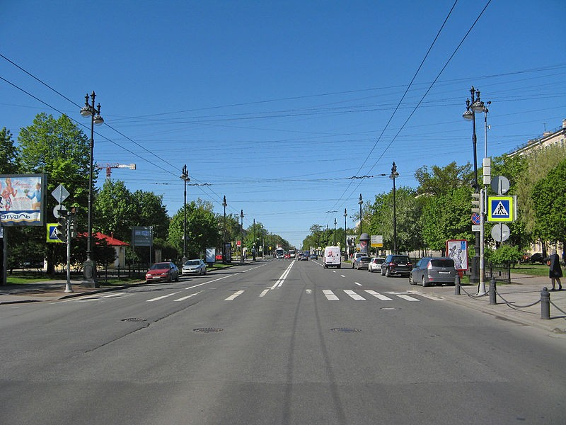 Большой проспект ВО, источник фото: Wikimedia Commons, Автор: Екатерина Борисова