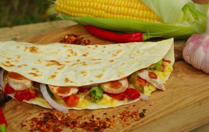 BroS BurritoS. Кесадилья