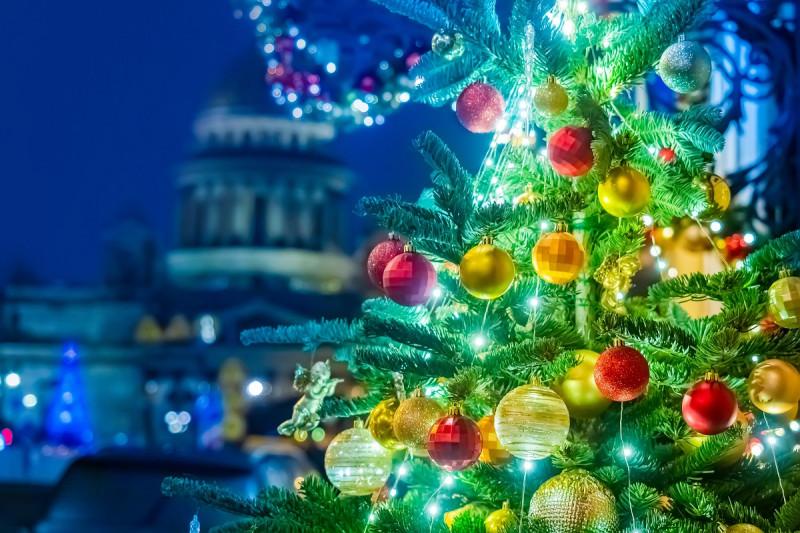 Новогодний Санкт-Петербург, Рождественская ёлка