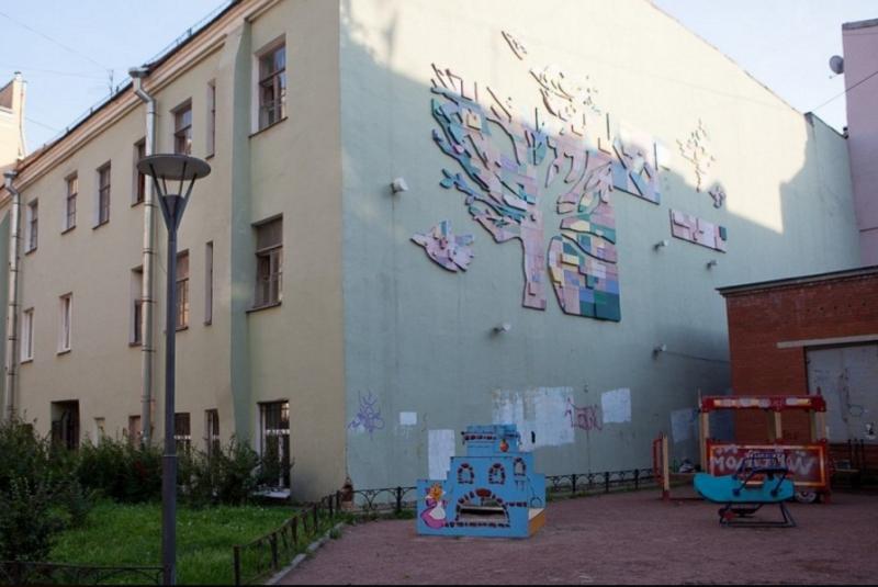 Мозаичный двор на Большой Московской