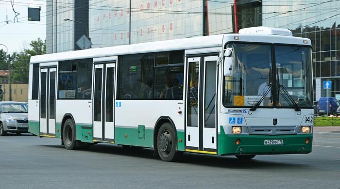 Автобус до Нового Петергофа