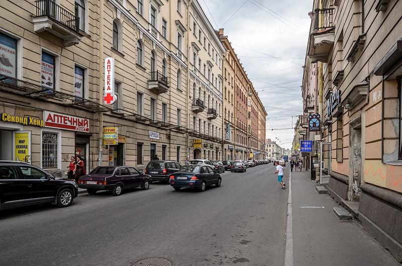 Переулок Гривцова, Author: Florstein (WikiPhotoSpace)