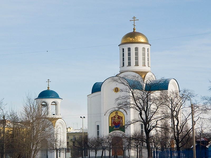 Блокадный Храм. Автор фото: George Shuklin (Wikimedia Commons)