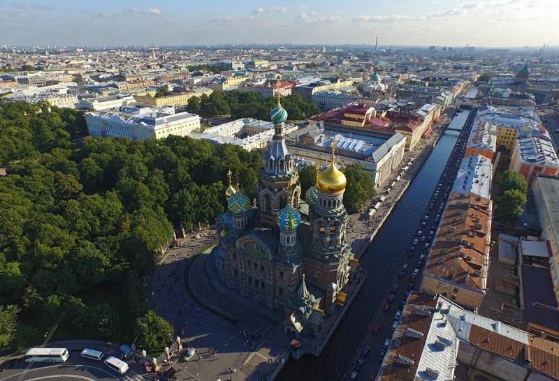 Петербург с высоты птичьего полета, источник фото: https://vk.com/spb_air