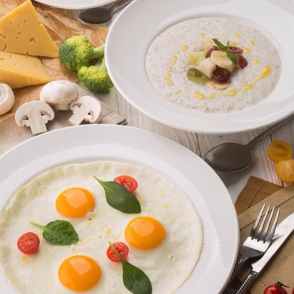 """Здоровый завтрак в кафе """"На Парах"""" (кухня на пару), источник фото: https://vk.com/naparah"""