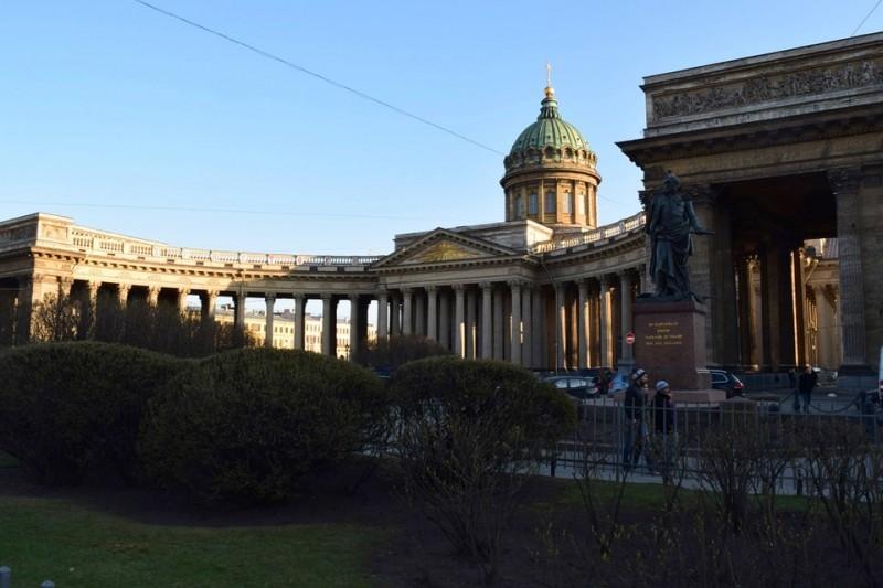 Казанский Собор Санкт Петербург, источник фото: https://pixabay.com/ru/казанский-собор-санкт-петербург-975185/
