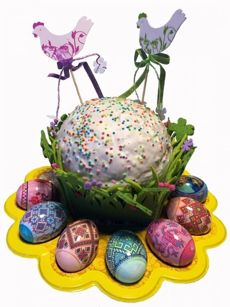 Кулич Пасха Яйца Праздник Христос Воскресе, источник фото: https://pixabay.com/ru/кулич-пасха-яйца-праздник-1547482/