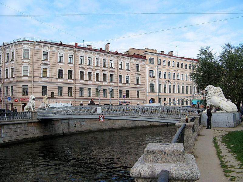 Львиный мост, полицейская часть. Wikimedia Commons, Автор: Екатерина Борисова