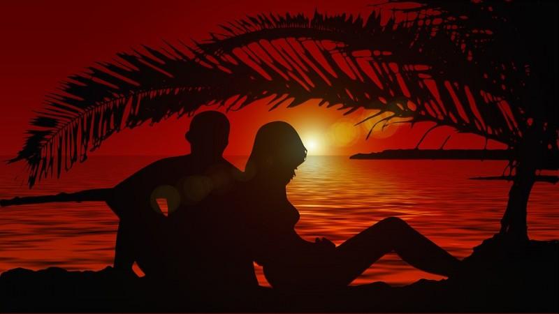 День Святого Валентина, источник фото: https://pixabay.com/ru/любовники-силуэт-пара-сансет-1862321/