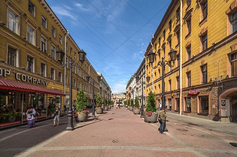 Малая Садовая улица, источник фото: Wikimedia Commons, Автор: Florstein