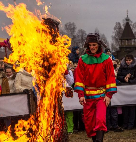 Масленица в Шуваловке, источник фото:https://vk.com/album-6855359_190210680