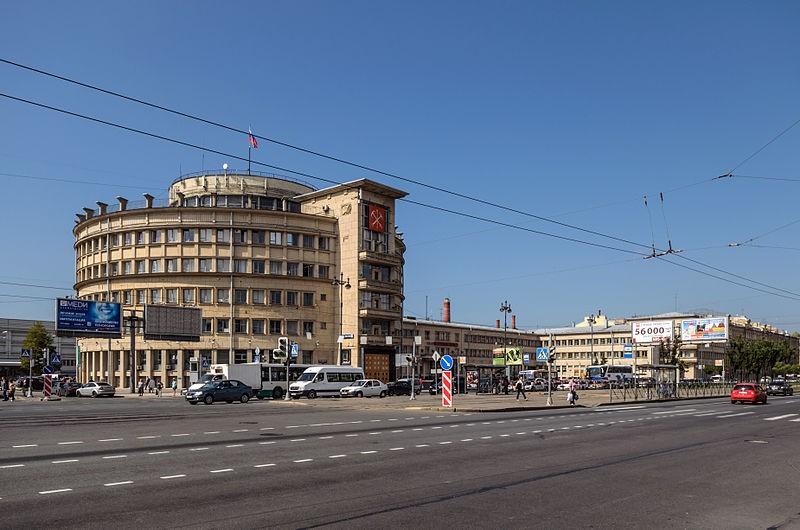 Московский проспект. Райсовет, источник фото: Wikimedia Commons, Автор: Florstein