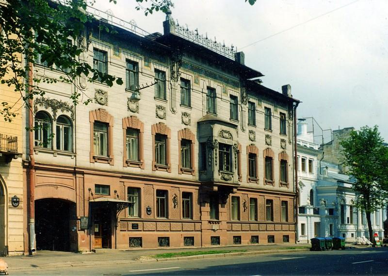 Дом Набокова. Автор фото: Vitold Muratov (Wikimedia Commons)