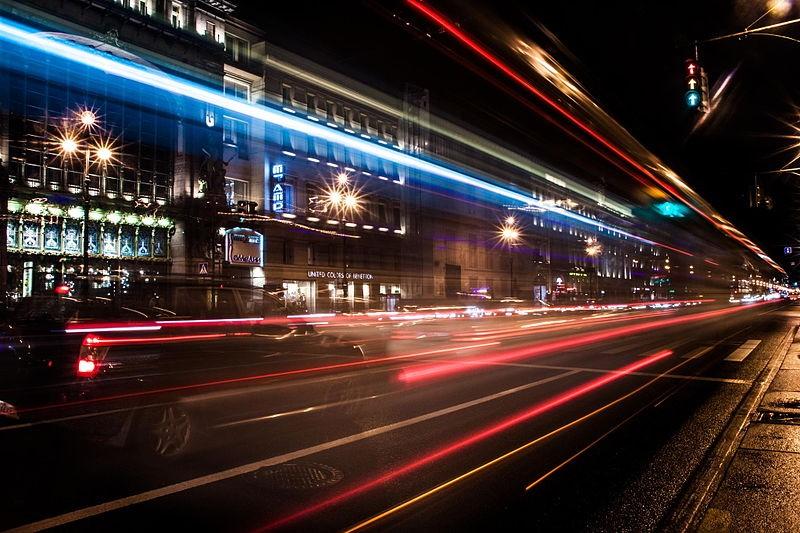 Ночной Невский проспект. Автор:Eivind Hamran