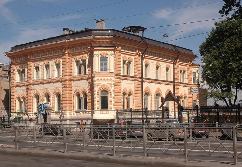 Дом-особняк г. фабриканта Ф. Сан-Галли. Фото: citywalls.ru