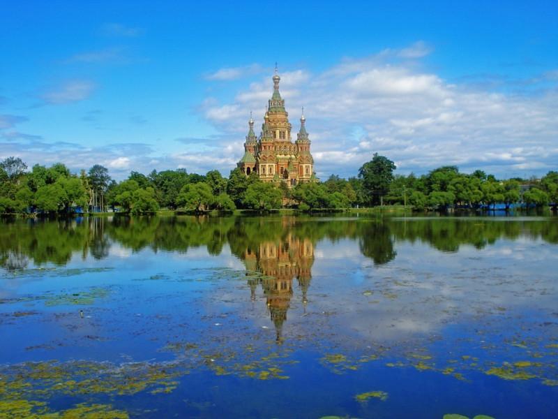 Санкт-Петербург Петергоф Храм