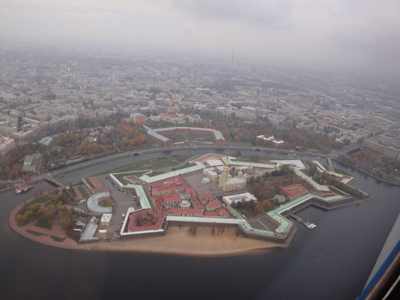 Петропавловская крепость. https://ru.wikipedia.org