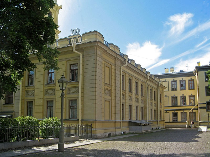 Дом церковный. Петропавловская крепость. Автор: Екатерина Борисова,  Wikimedia Commons
