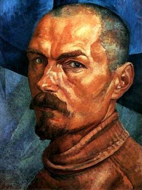 Петров-Водкин, Автопортрет, 1918 г. Фото: Wikimedia Commons
