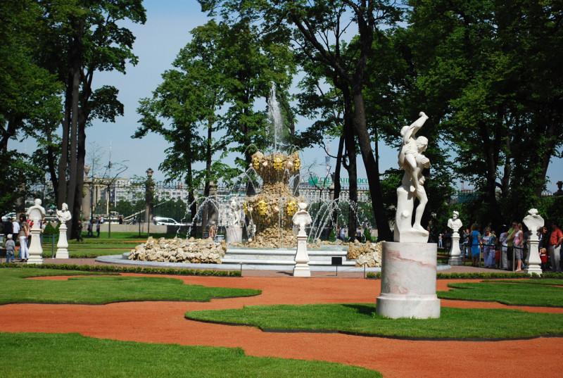 Летний сад. Фото: citywalls.ru