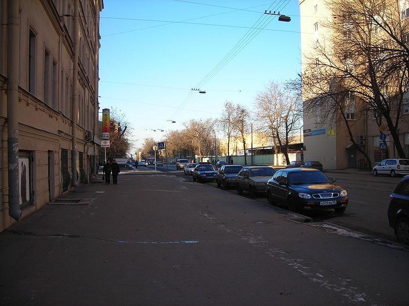 Проспект Обуховской Обороны источник фото: Wikimedia Commons, Автор: Andy Kartashov